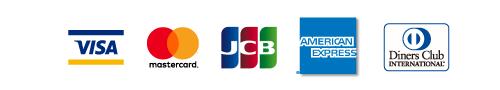 JCB/AMERICAN EXPRESS/Diners Club/UC/DISCOVER/VISA/Mastercard/三菱UFJニコス