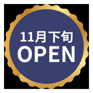 11月下旬OPEN