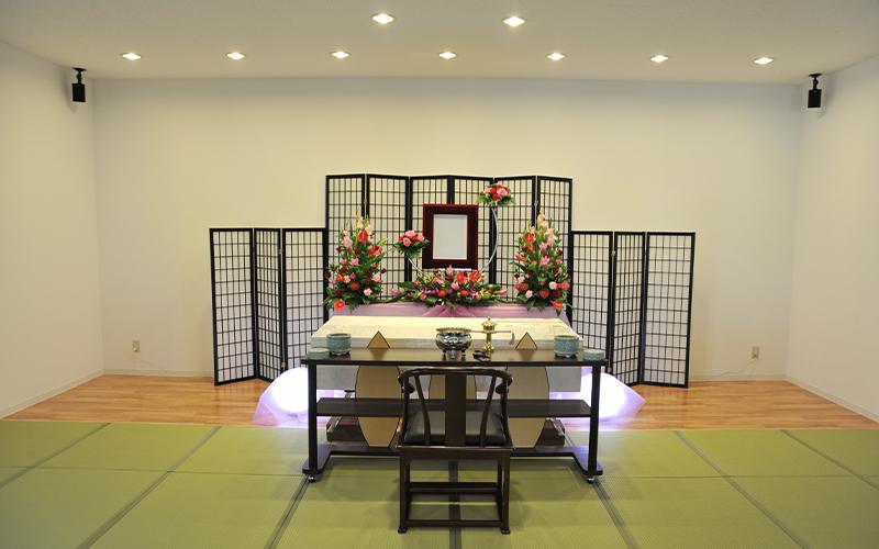 家族葬のトワーズ豊橋祭壇
