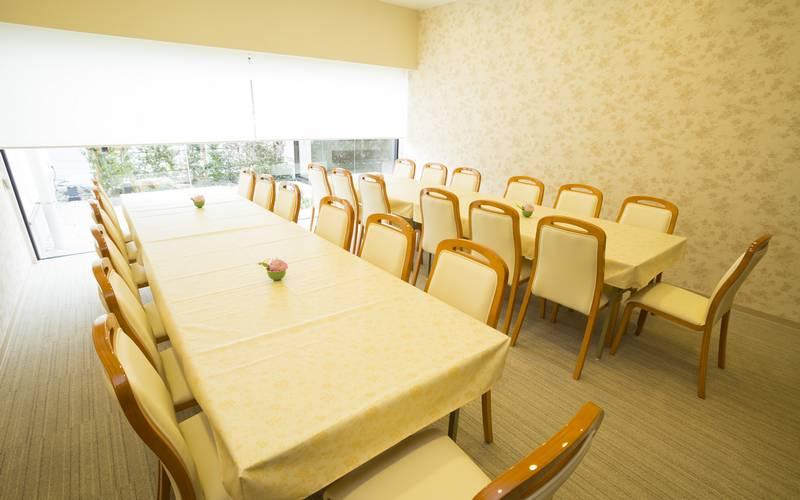 家族葬のトワーズ豊橋西会食室